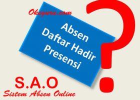 Membuat Sistem Absen Online